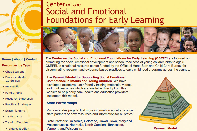 social and emotional development of low The social and emotional health of young children birth to age receiving care within a low-quality child aspects of social and emotional development to.
