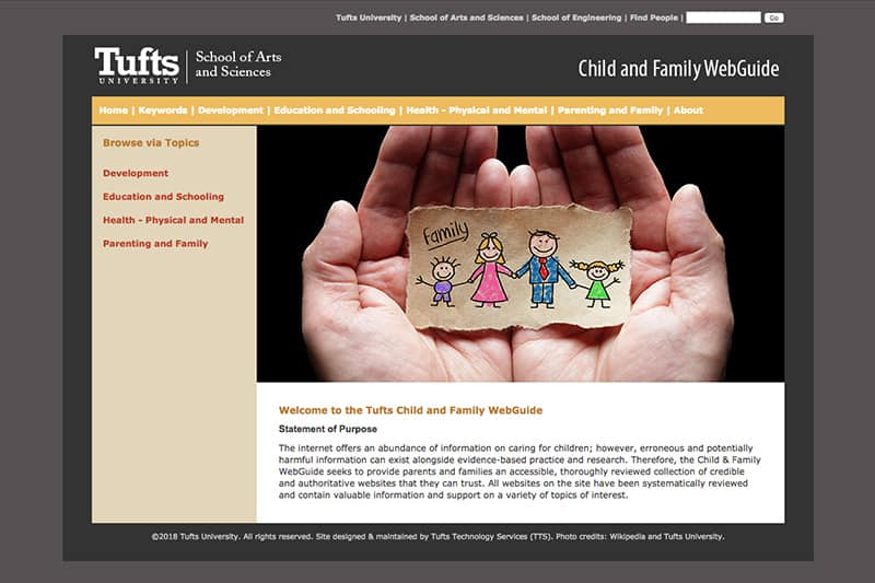 Child and Family WebGuide